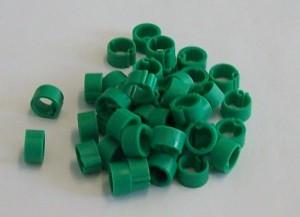 Wachtelringe grün